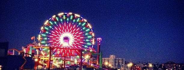 Santa Monica Pier is one of LA fun.