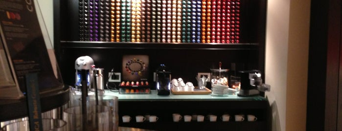 Nespresso Boutique is one of Top picks for Miscellaneous Shops.