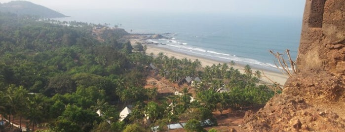 Chapora Fort is one of Goa.