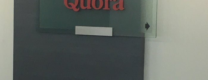 Quora HQ is one of Silicon Valley.