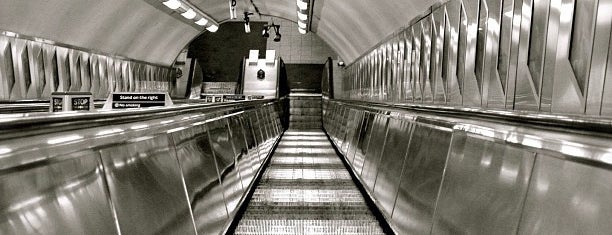 St. Paul's London Underground Station is one of Around The World: London.