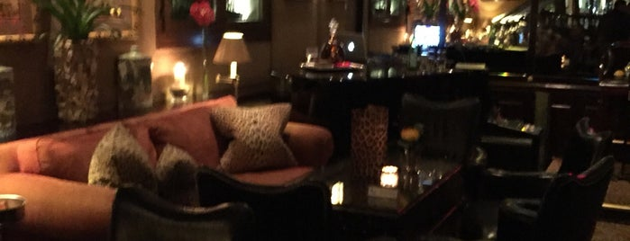 Leopard Room Bar is one of Top Places Geneva.