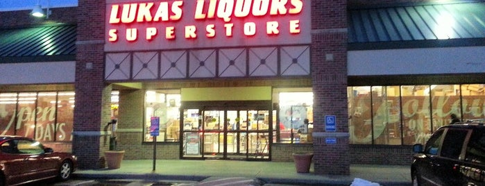 Lukas Liquors is one of Favorite Places.