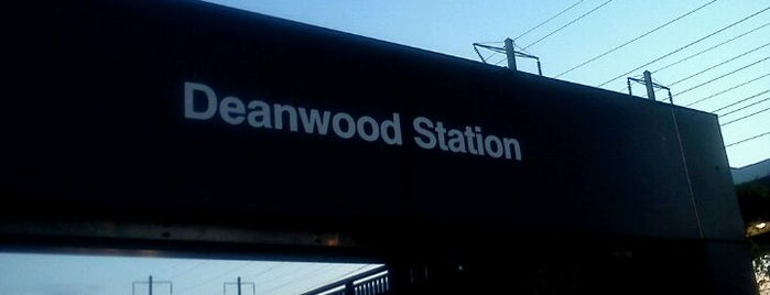 Deanwood Metro Station is one of WMATA Train Stations.