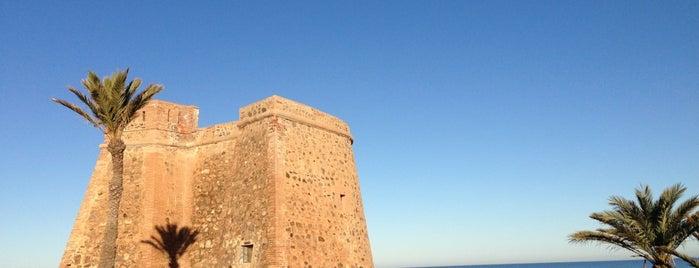 Torre de Macenas is one of Torres Almenaras en el Litoral de Andalucía.