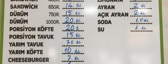 Korkmaz Büfe is one of to go & eat.