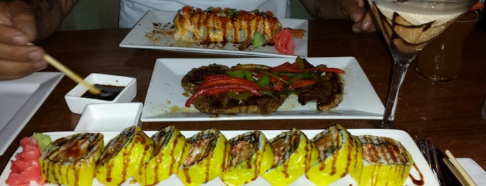 Manu's Tapas Bar & Sushi Lounge is one of NJ Spots.
