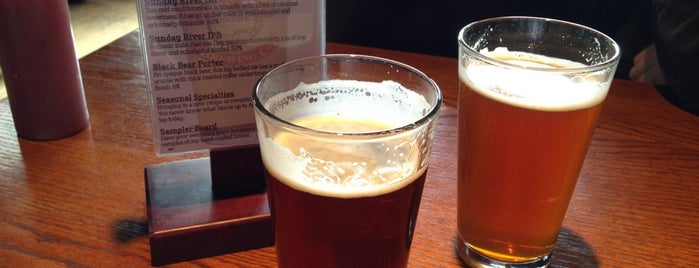 Sunday River Brewing Company is one of New England Breweries.
