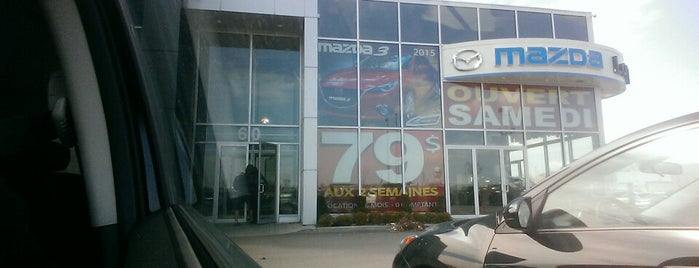 Longueuil Mazda is one of Longueuil #4sqCities.