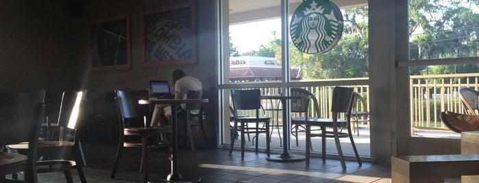 Starbucks is one of Georgia Beach Rentals.