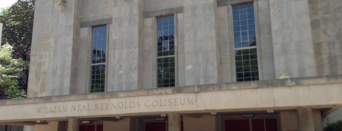 Reynolds Coliseum is one of Sports Venues I've Worked At.