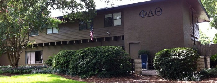Phi Delta Theta (ΦΔΘ) House is one of Baton Rouge Things to Do.