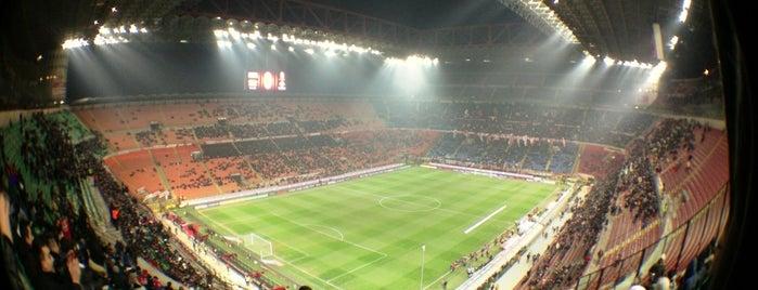 "Stadio San Siro ""Giuseppe Meazza"" is one of Great UEFA Champions League moments."