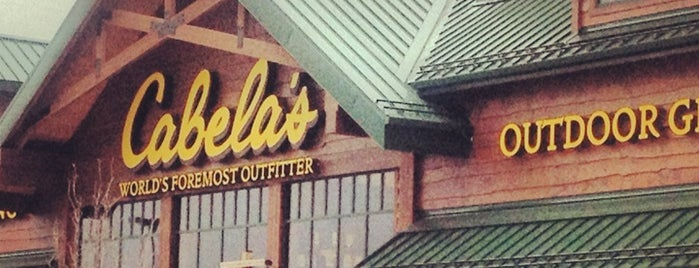 Cabela's is one of Angie.