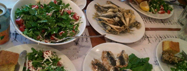 Adem Baba is one of Istanbul's Best Seafood - 2013.