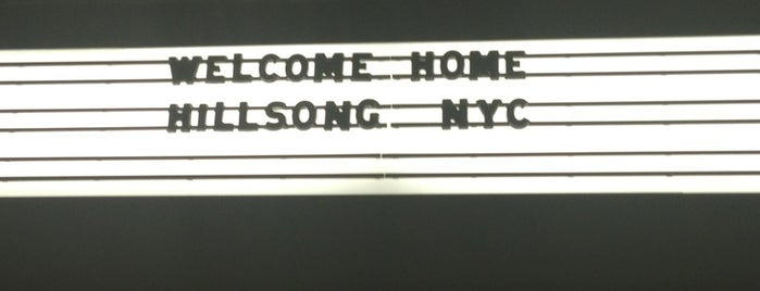 Hillsong NYC is one of frequent.