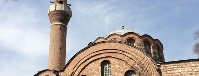 Kalenderhane Camii is one of Istanbul.