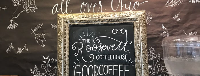 The Roosevelt Coffeehouse is one of Work.