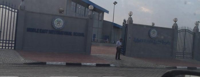 Middle East International School is one of schools.