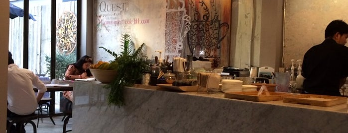 Quest Connaisseur Cafe is one of Bangkok Gastronomy.