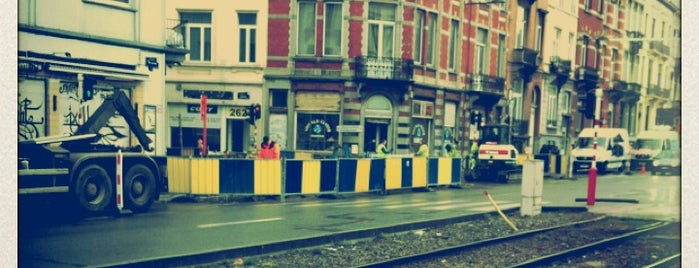 Roffiaen (MIVB / STIB) is one of Belgium / Brussels / Tram / Line 25.