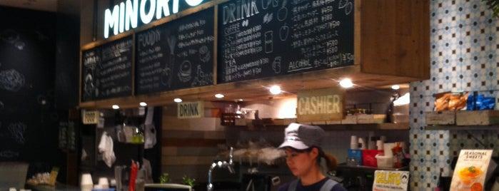 MINORI CAFE is one of mayor.
