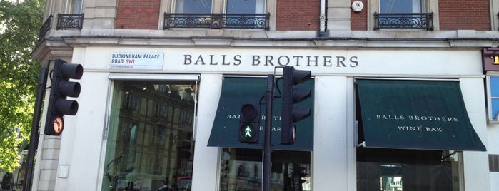 Balls Brothers is one of 1000 Things To Do In London (pt 2).