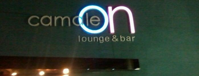 Camaleon Lounge & Bar is one of Hotspots WIFI Poços de Caldas.