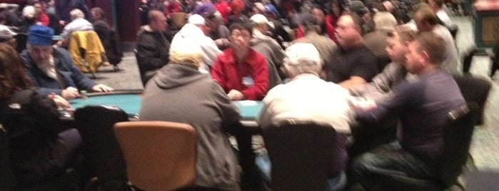 Poker Room at Foxwoods Resort Casino is one of Poker.