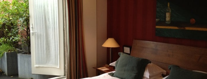 Hotel du Vin is one of Brighton.