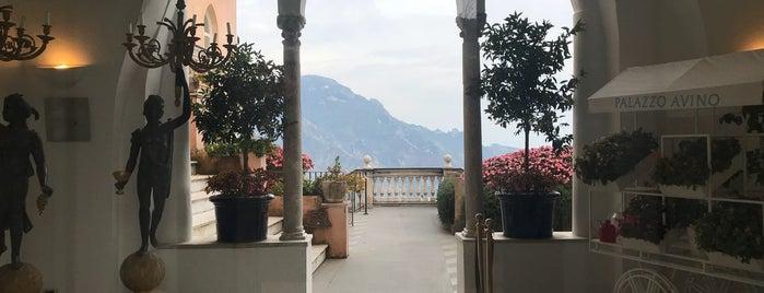 Hotel Palazzo Avino is one of Napoli.