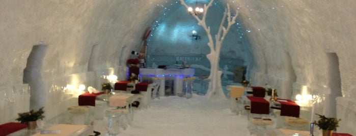 Ice Hotel is one of Europa.