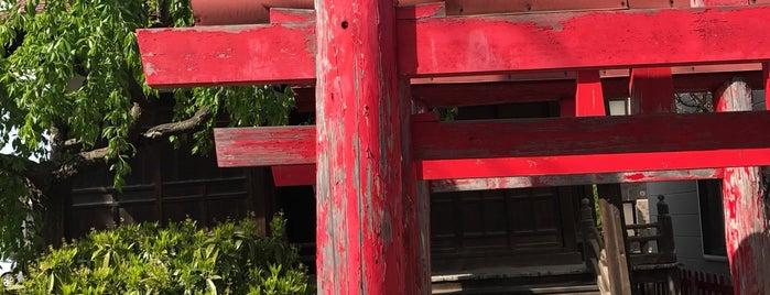 赤山稲荷 is one of Shinto shrine in Morioka.