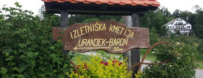 "Izletniška Kmetija Uranjek ""Pri Baronu"" is one of Mladina Konzum 1-3."