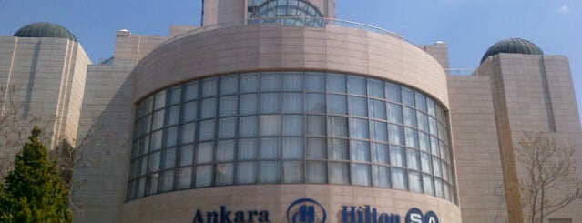 Ankara HiltonSA is one of Ankara'daki Oteller.