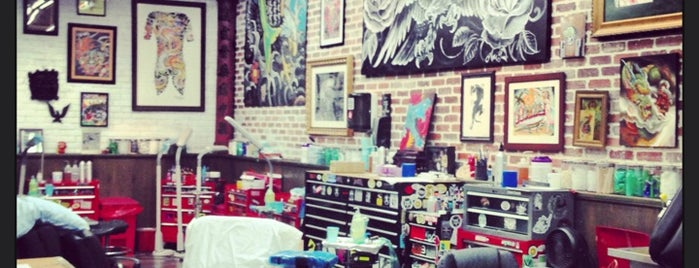 Miami Ink Tattoo Studio is one of Florida, FL.