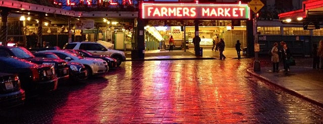 Pike Place Market is one of Seattle.