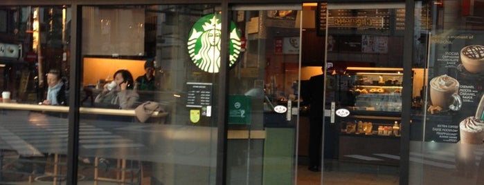 Starbucks is one of STARBUCKS.