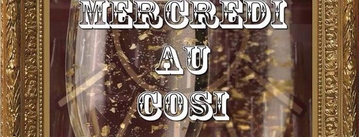 Cosi is one of Les restos de Steph G..