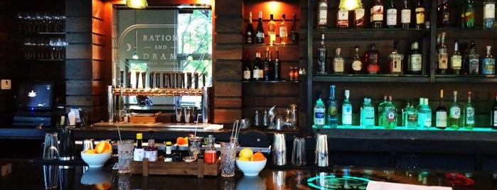 Ration and Dram is one of Atlanta At Its Best.