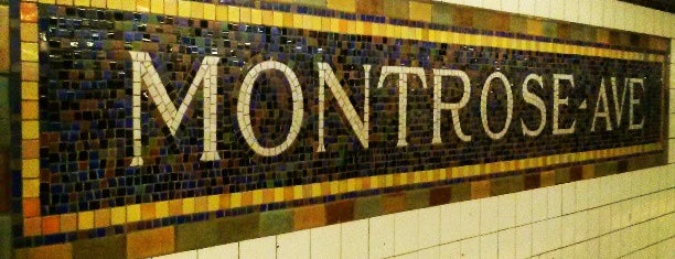 MTA Subway - Montrose Ave (L) is one of MTA Subway - L Line.