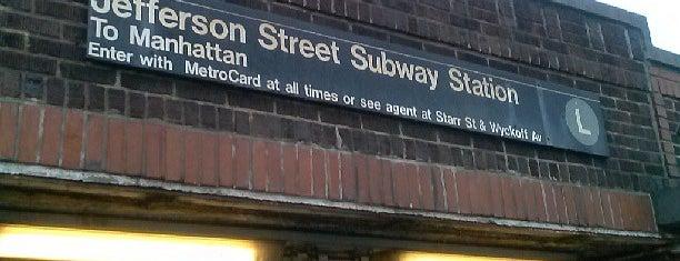 MTA Subway - Jefferson St (L) is one of MTA Subway - L Line.