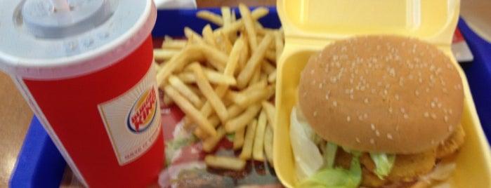 Burger King is one of Mekanlar.