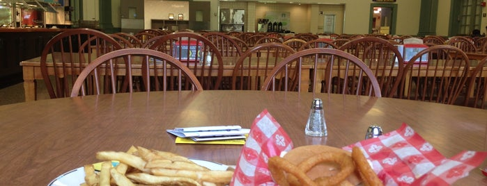 Harris Dining Center is one of Miami U.