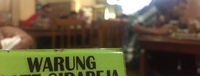 "Warung Sate Sidareja ""Pak Gino"" is one of Food Spots @Bandung."