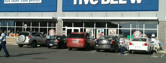 Five Below is one of Department / Outlet Stores.