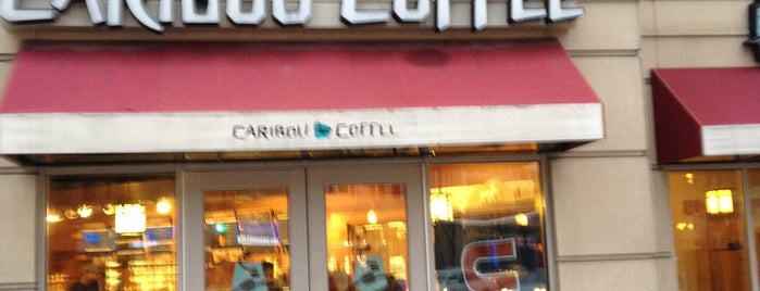 Caribou Coffee is one of Censored Internet.