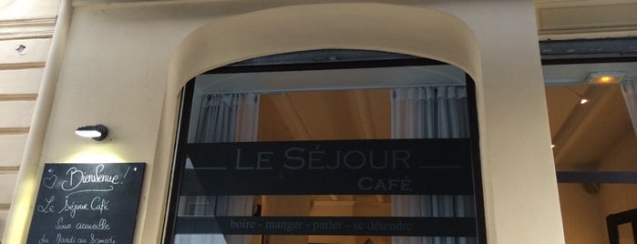Le Séjour Café is one of Nice.