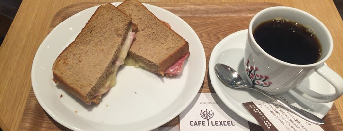 CAFE LEXCEL is one of Yokohama.