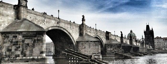 Charles Bridge is one of Prague.
